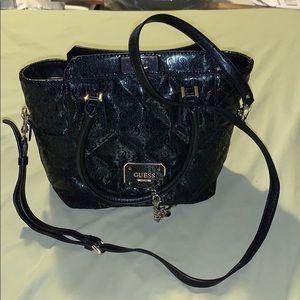 Black Guess purse